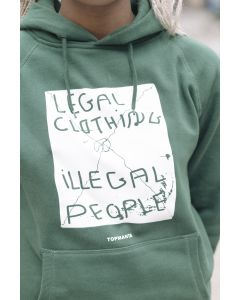 Sudadera con capucha Legal