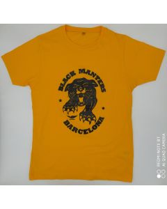 BLACK MANTERS T-SHIRT - AMARILLO