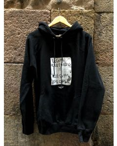SUDADERA LEGAL CON - NEGRO