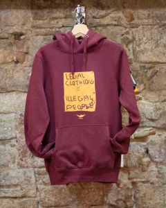 SUDADERA LEGAL CON - GRANATE
