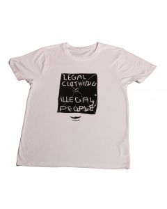LEGAL T-SHIRT - BLANCO