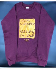 SUDADERA LEGAL - GRANATE
